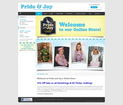 Pride and Joy : Joomla and VirtueMart