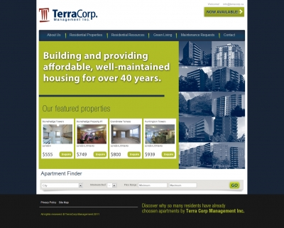 Real Estate Website : iProperty for Joomla