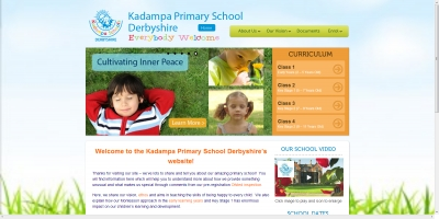 Kadampa Primary School : WordPress Website